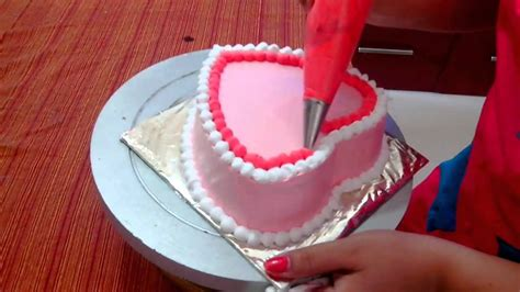 Anniversary Cake Simple Heart Shape Cake Cake   anniversary cake easy cake recipe heart shaped sponge