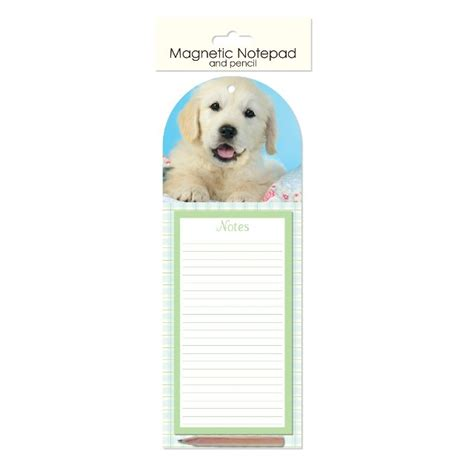 puppy shopping list magnetic memo pad pencil fridge magnet shopping list kitten puppy cupcake ebay