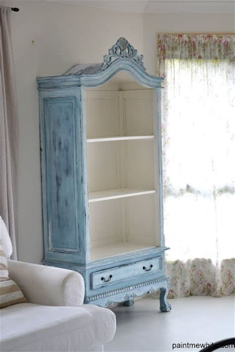 refurbished armoire paint me white furniture