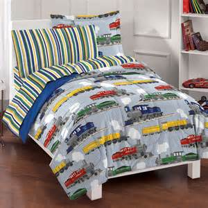 boy bedding new trains boys bedding comforter sheet set ebay
