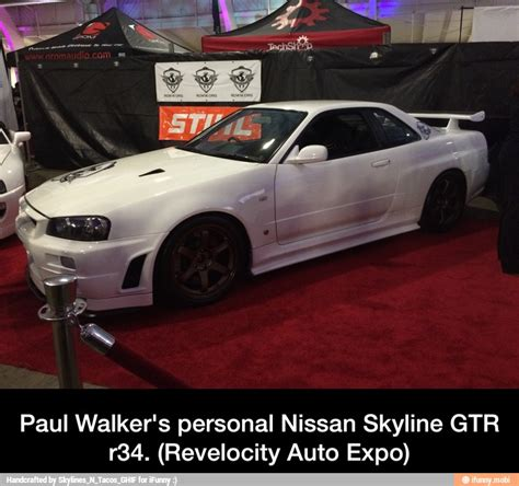 paul walkers nissan skyline paul walkers personal skyline www pixshark com images
