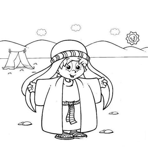 printable coloring pages joseph coat free coloring pages of joseph his coat