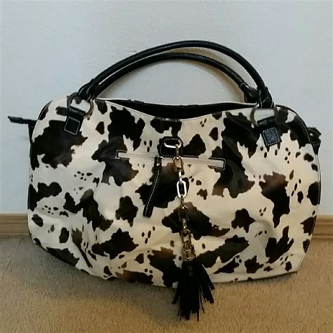 Coach Set Pouch 7107 79 handbags nwot cow print tote from s