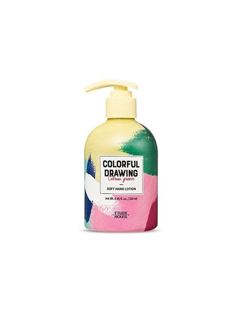 etude house colorful drawing soft lotion
