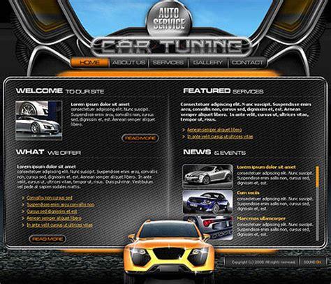 Car Service Flash Template Best Website Templates Car Service Website Template
