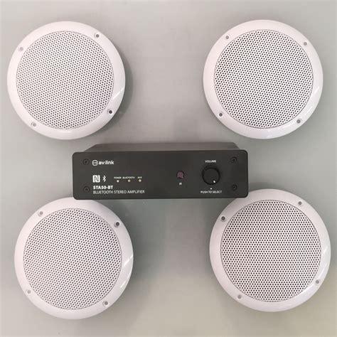 Speaker Ceiling bluetooth ceiling speaker 4 waterproof speakers hi fi