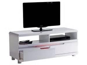 meuble tv tiki coloris blanc artzein