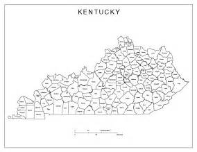 county map printable kentucky labeled map