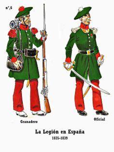 armies of the carlist war 1833ã 39 at arms books la legion extranjera 1835 1870 por andre jouineau