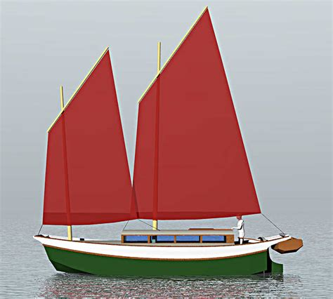 scow boat designs laura cove 28 sailing scow small boat designs by tad