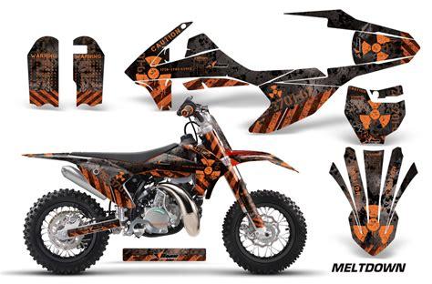 Ktm Graphic Kit Amr Racing Ktm Sx50 Graphics Kit Wrap Bike Decal Sticker