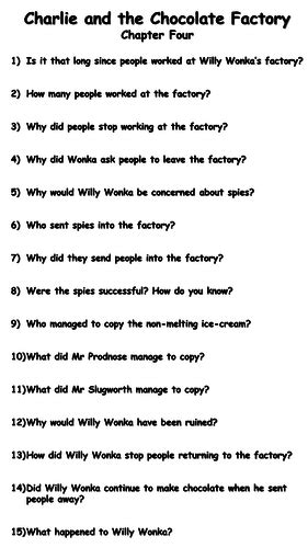 Charlie and the Chocolate Factory - Chapter Four Reading