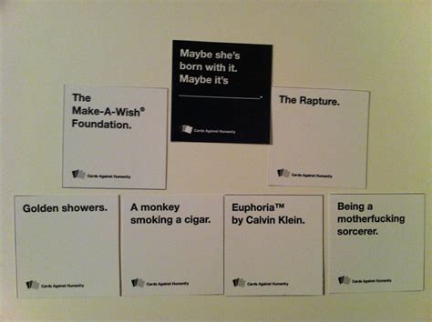 how to make cards against humanity cards against humanity your passport to complaining