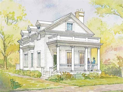 greek revival house plans small cottage best house design