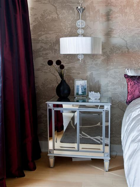 mirrored night stands bedroom chic bedroom storage bedroom decorating ideas for master