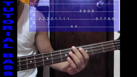 youtube tutorial bass bass cover tutorial dios incomparable marco barrientos