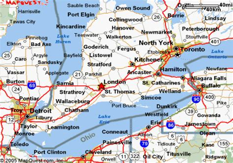 map of usa states detroit map of detroitcanada border afputra