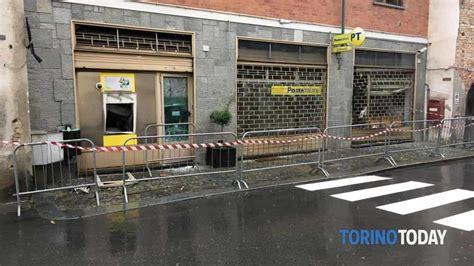 ufficio postale carmagnola assalto all ufficio postale l esplosione nella notte