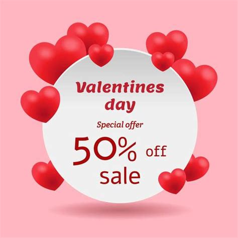 Non Related Sale Of The Day by Valentines Day Sale Banner Free Vector