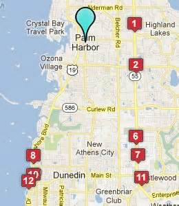 map of harbor florida palm harbor fl hotels motels see all discounts