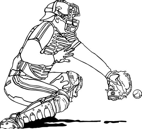catcher clip art