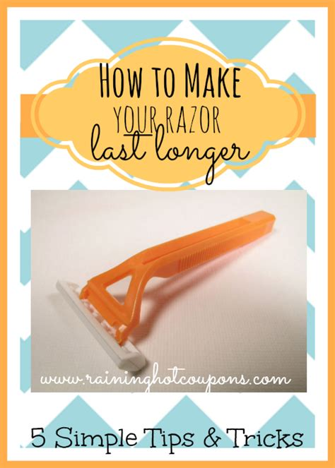 43 Simple Tricks To Make - how to make your razor last longer 5 simple tips and