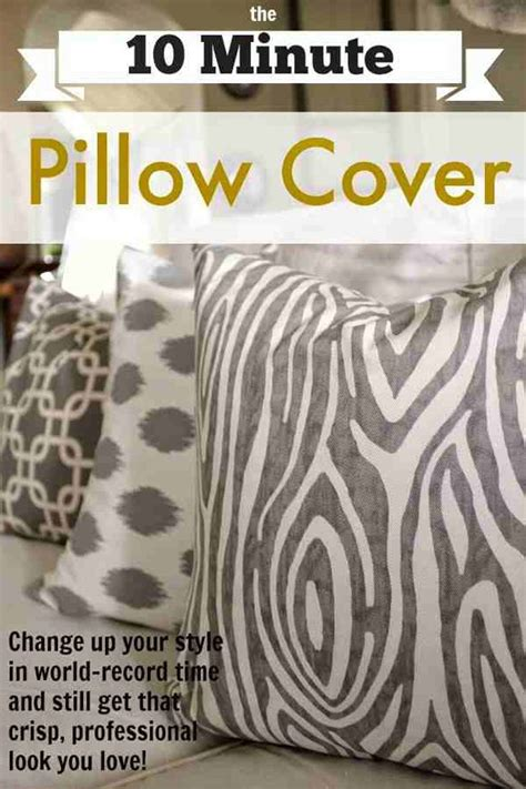 How To Sew A Throw Pillow Cover by 17 Adorable Diy Pillow Ideas Diyready Easy Diy Crafts Projects Diy Craft Ideas For