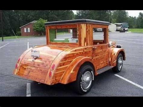 custom built wood car