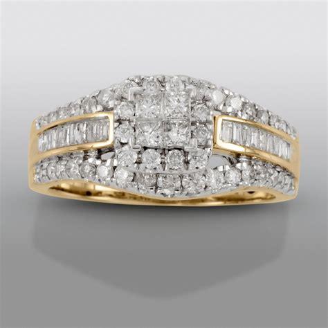 David Tutera 1 cttw Certified Diamond Engagement Ring 14K