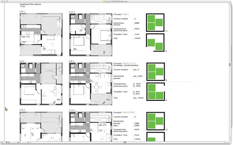 apartment floor plan 12 weeks 1 design 049 modular apartment plans