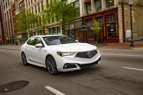 refreshed 2018 acura tlx starts at 33 950 motor trend