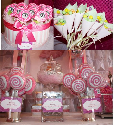 printable pink birthday party decorations a pink 7th birthday enchanted prom party party ideas
