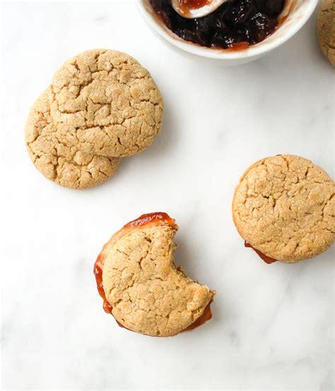 Stack Cup Oce Dan Cookies peanut butter jelly sandwich cookies