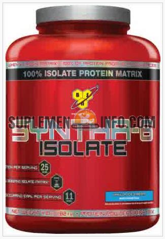 Whey Protein Isolate Murah Syntha 6 Isolate Jual Suplemen Fitness Bpom Murah
