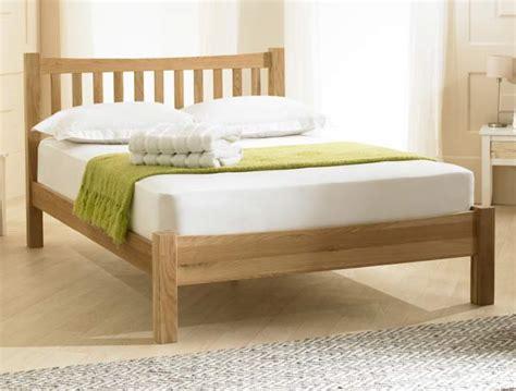 Low Price Bed Frames Bestpricebeds Inter Solid Oak Low End Bed Frame Buy