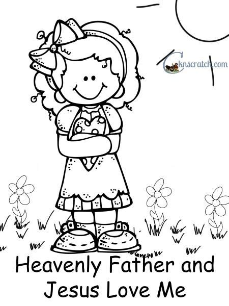 love chapter coloring page behold your little ones lesson 4 heavenly father and