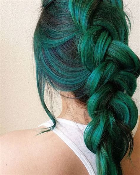 hair colors for green 25 best ideas about unique hair color on