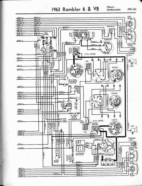 1960 rambler american wiring diagrams 1960 free engine