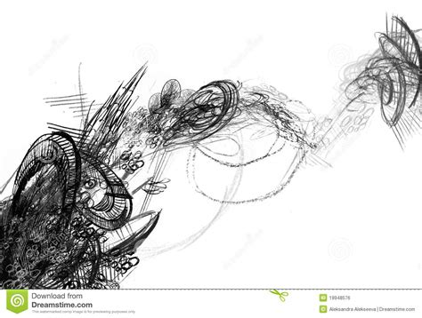 Sketches Black And White by Black And White Abstract Drawings 8 Background