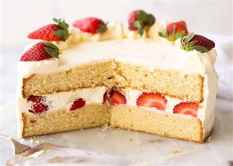 best vanilla cake recipe vanilla sponge cake recipetin eats