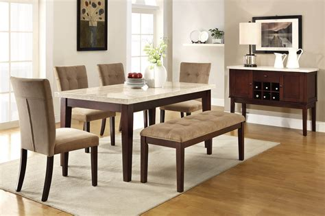 dining room sets for 6 6 piece dining room set bombadeagua me