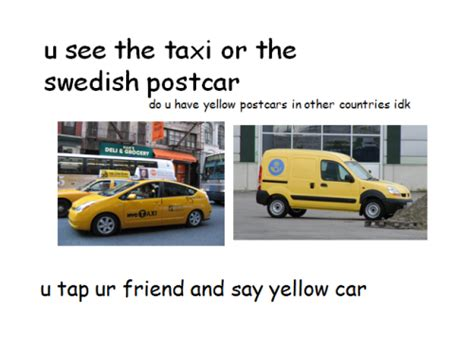 Gelbes Auto Spiel by Yellow Car