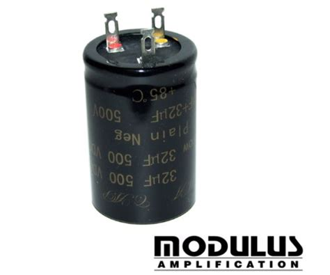 can capacitor capacitor can 16uf 16uf 500v ma cap modulus uk guitar parts and kits