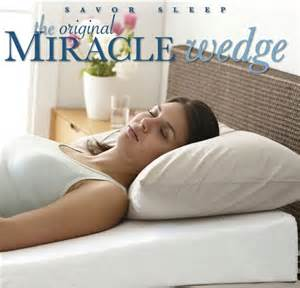 original miracle wedge pillow