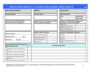 Quarterly Report Template Small Business by Excel Templates