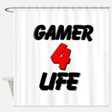 Gamer Shower Curtain by Call Of Duty Shower Curtains Call Of Duty Fabric Shower