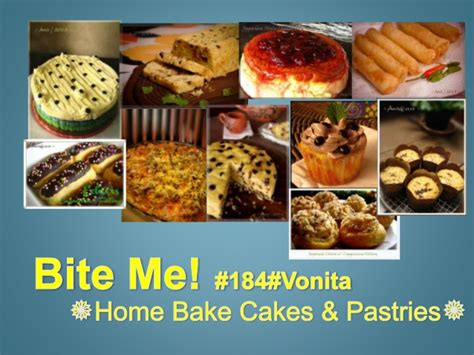 bite me home bake cakes pastries