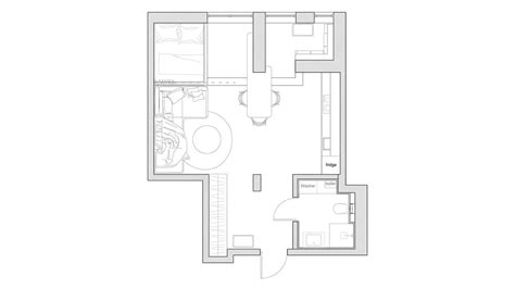 cool apartment floor plans 3 small apartments that rock uncommon color schemes with