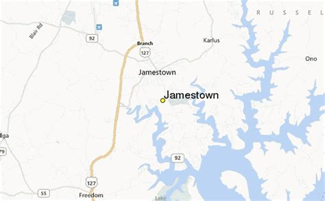 jamestown kentucky map jamestown weather station record historical weather for