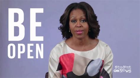 want to see a picture of michelle obama with new haircut michelle obama on studying abroad youtube